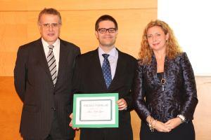 Recpeción del premio Forelab a Joven laboralista