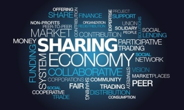 Sharing economy collaborative peer-to-peer mesh consumption